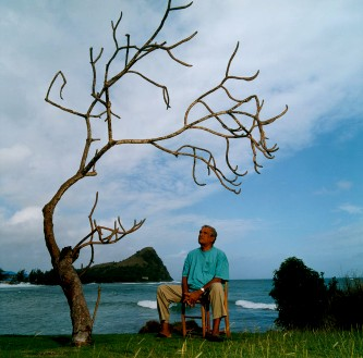 Derek Walcott (photo : Micheline Pelletier)